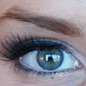 eye makeup close